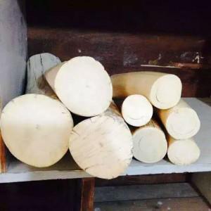 批发猛犸象牙原料段料白冰料