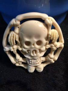猛犸象牙骷髅骨头挂件挂牌