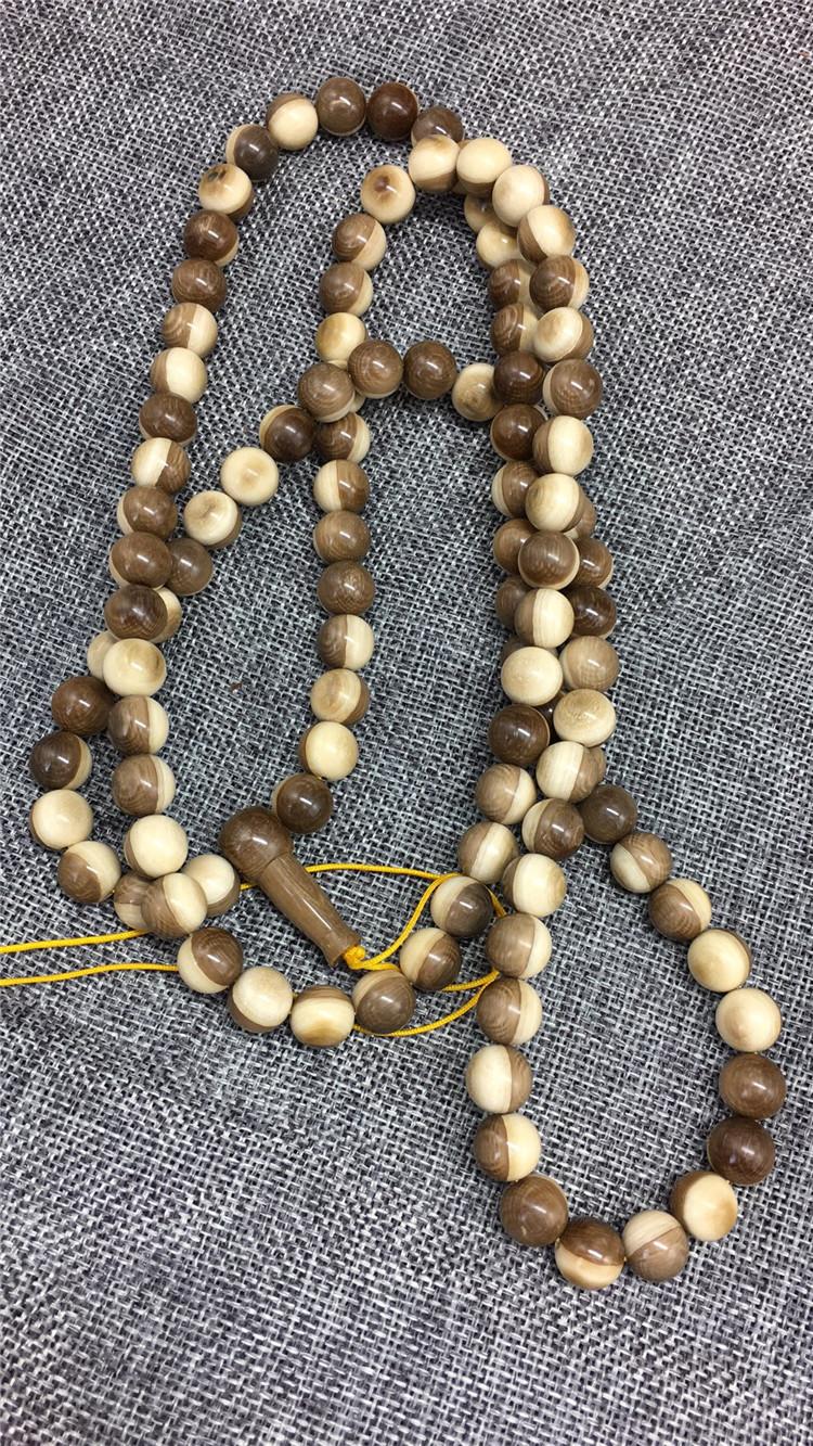 猛犸象牙阴阳珠手串1.0猛犸象牙108阴阳珠手串
