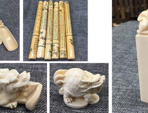 猛犸象牙雕刻品制品新品1